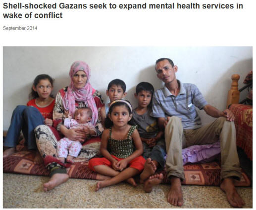 Families Need Mental Health Services Due to Conflict