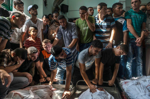 New York Times Photo of Gaza Fatalities 2014